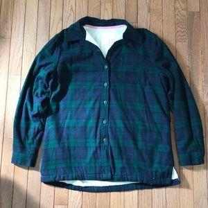 L. L. Bean Fleece Lined Flannel